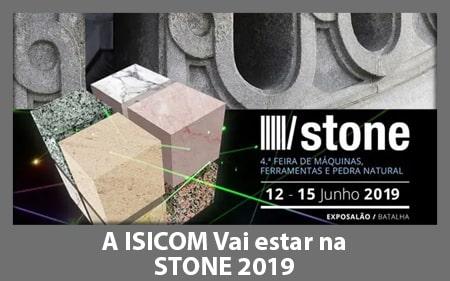 A ISICOM vai participar no STONE 2019