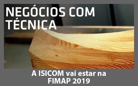 A ISICOM vai estar presente na Fimap 2019