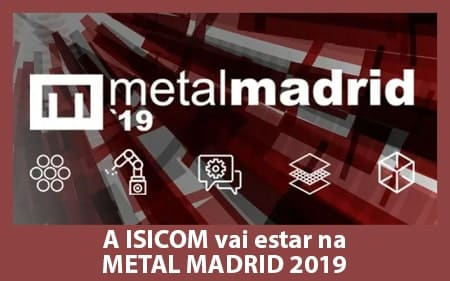 A ISICOM vai estar presente na Metal Madrid