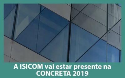 A ISICOM vai estar presente na Concreta 2019