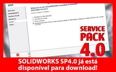 Dicas SOLIDWORKS – Atualização Service Pack 4.0