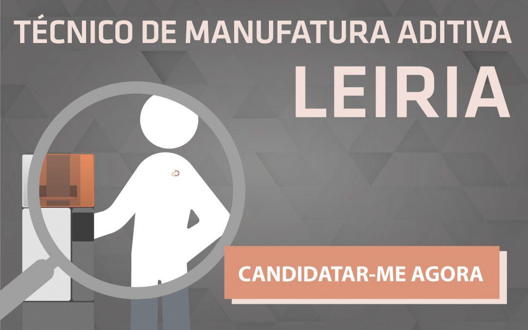 Técnico de Manufatura Aditiva – Leiria