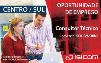 Consultor Técnico Comercial SOLIDWORKS