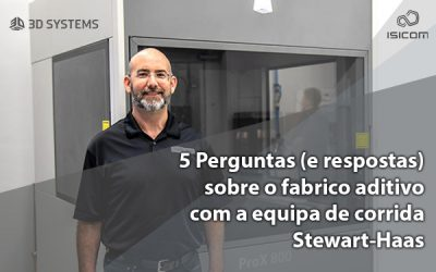 5 Perguntas (e respostas) com a equipa de corrida Stewart-Haas