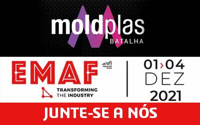 A ISICOM vai estar presente na MoldPlas e EMAF 2021